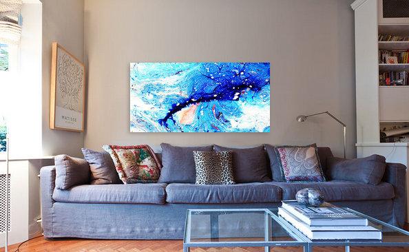 abstrakte moderne expressive kunst der malerei wohnzimmer im onlineshop von lee eggstein zu