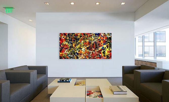 Delightful Moderne Kunst Fürs Wohnzimmer U. Büro Von Lee Eggstein