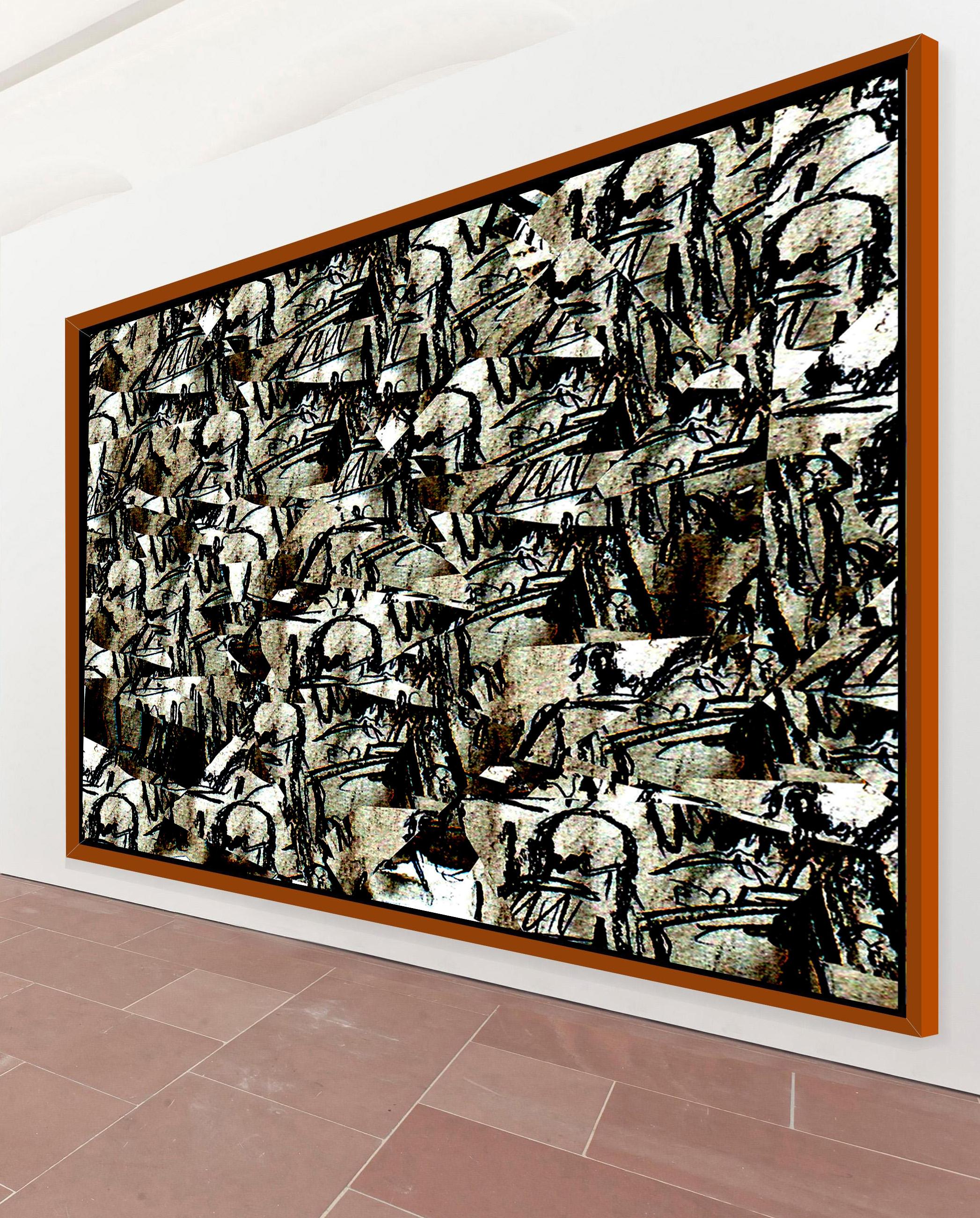 gro formatige moderne bilder kunst der malerei schwarzwei lee eggstein faszination der. Black Bedroom Furniture Sets. Home Design Ideas