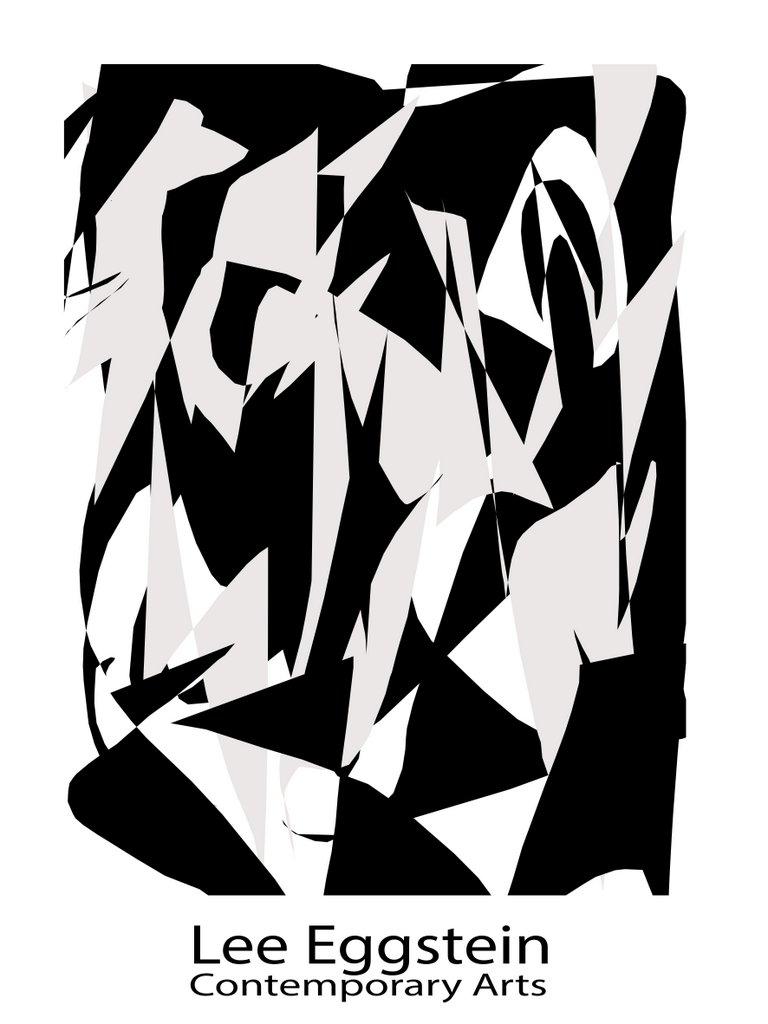 abstrakte malerei schwarzweiss als kunstdruck zu kaufen im. Black Bedroom Furniture Sets. Home Design Ideas